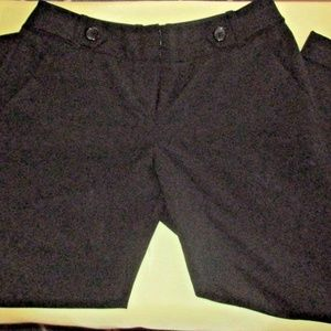 The Limited Size 2 Cropped Pants Black Collection